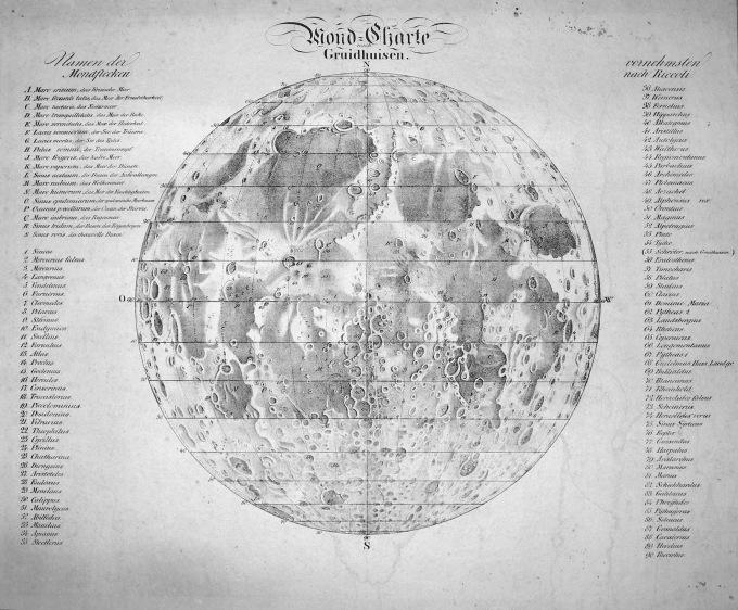 gruithuisen_lunar_map_1821